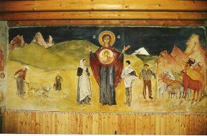 Vierge Orante de la chapelle du Collet (cliquez pour agrandir)